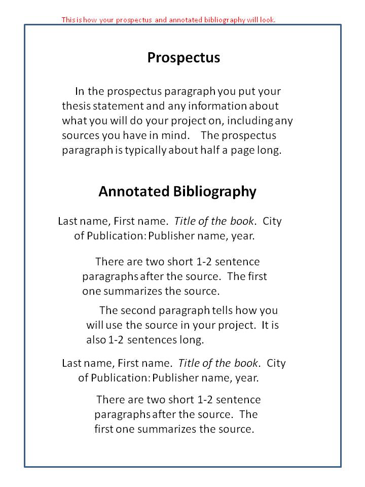 annotated bibliography book source