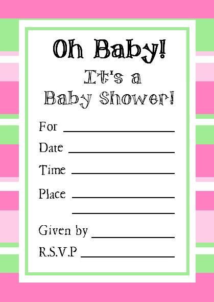 Baby shower online invitation templates free 1036415 - detektiv007info - online invitations templates printable free