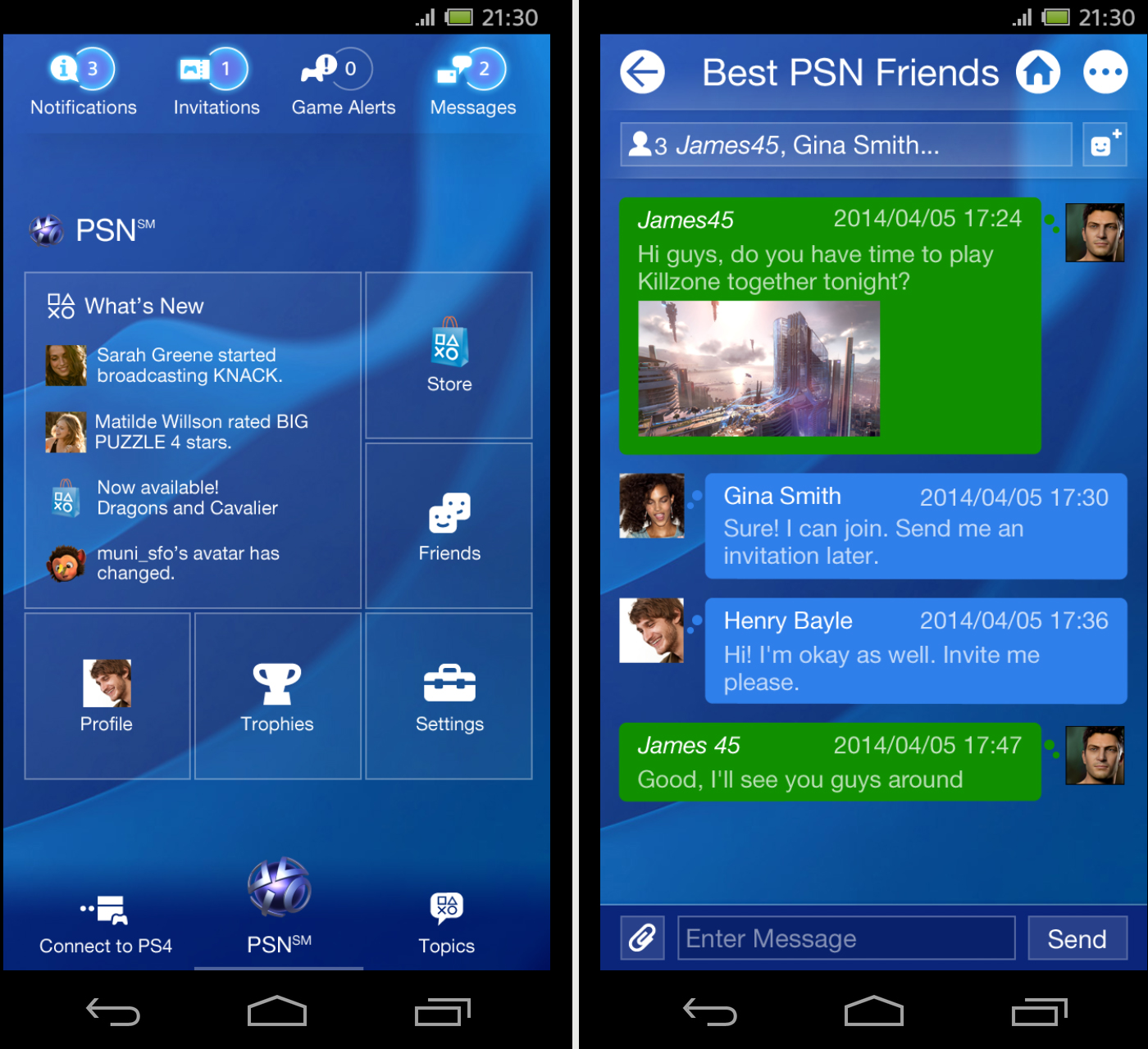 Playstation Contact Sony Updates Official Playstation Application To Get Ready