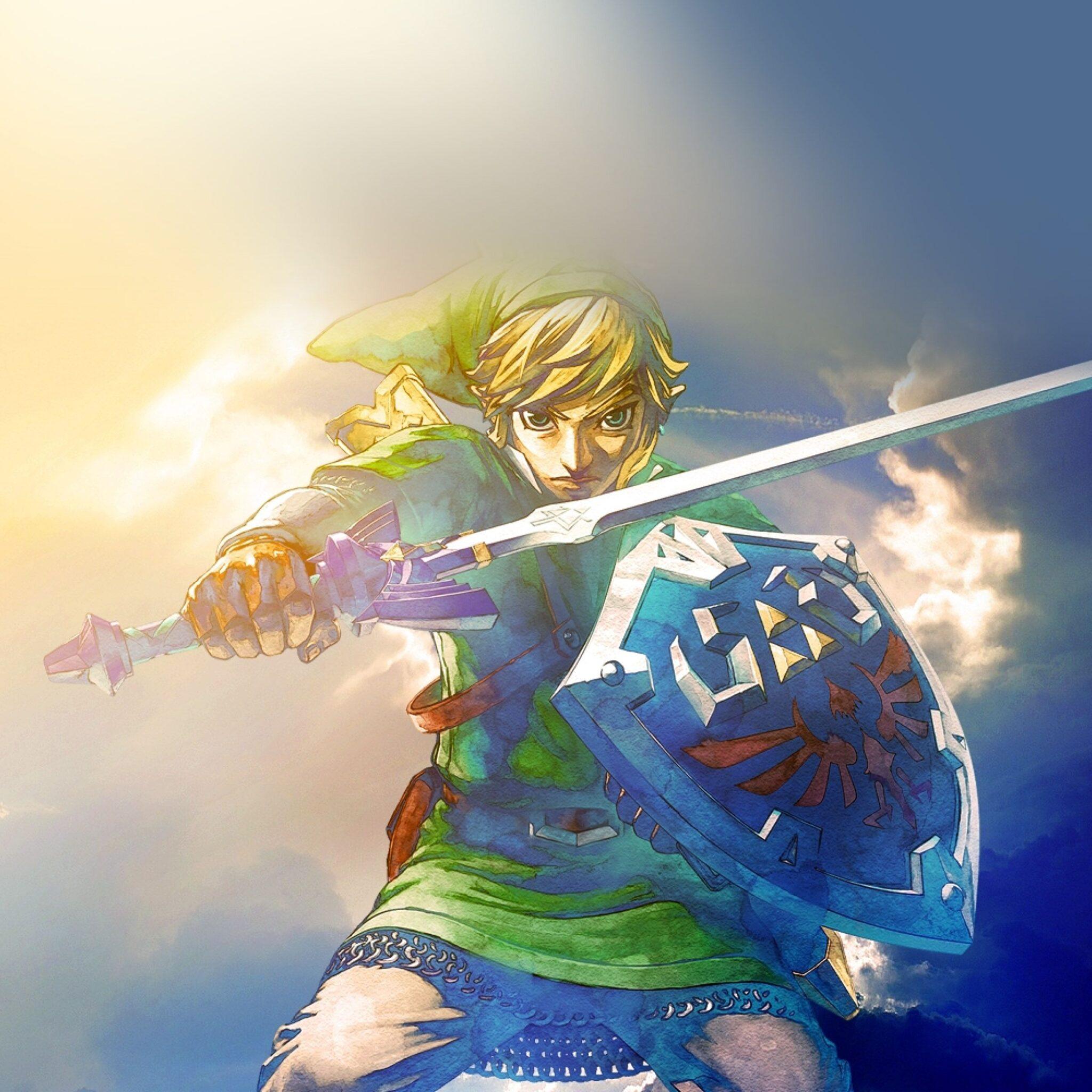 Legend Of Zelda Breath Of The Wild Wallpaper Hd Zelda Fond D 233 Cran Android