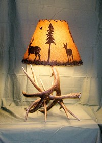 Lamps | Drokes Antler Art