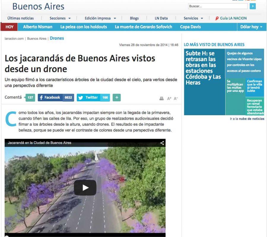 Jacarandas La Nacion