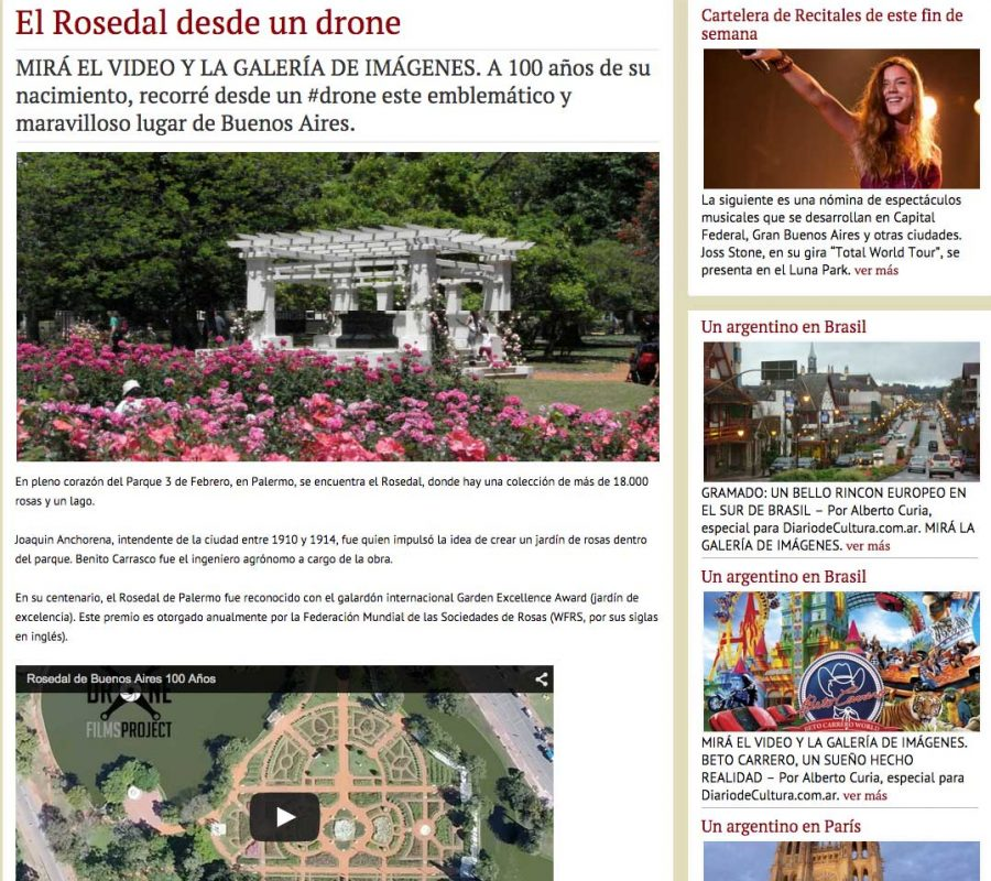Diario de Cultura Rosedal