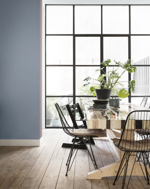 Interieur Blauw Zwart Awesome Flexa Interieur Kleurtrend The Inviting Home In