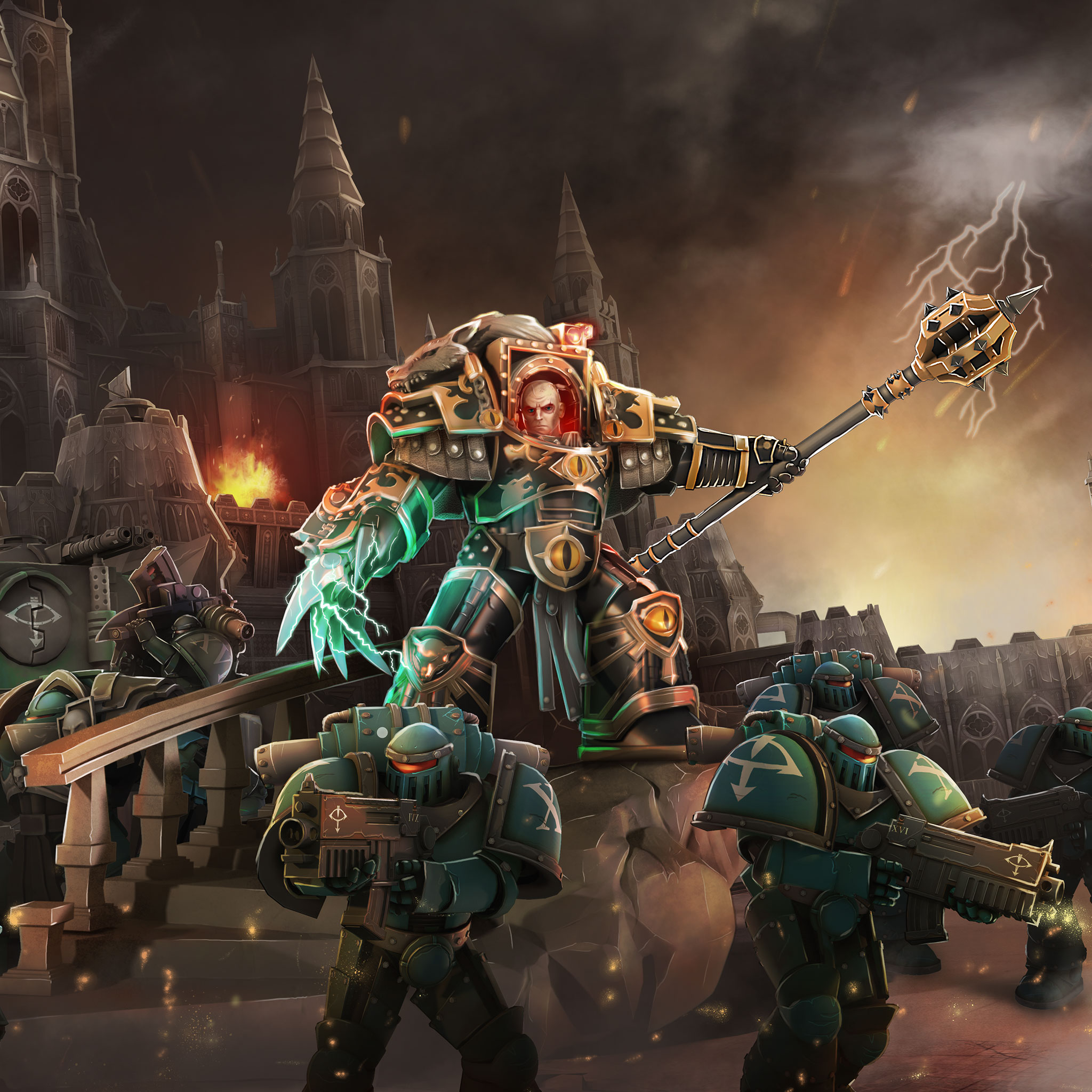 Eagle Wallpaper Iphone X The Wrath Of Horus The Horus Heresy Drop Assault