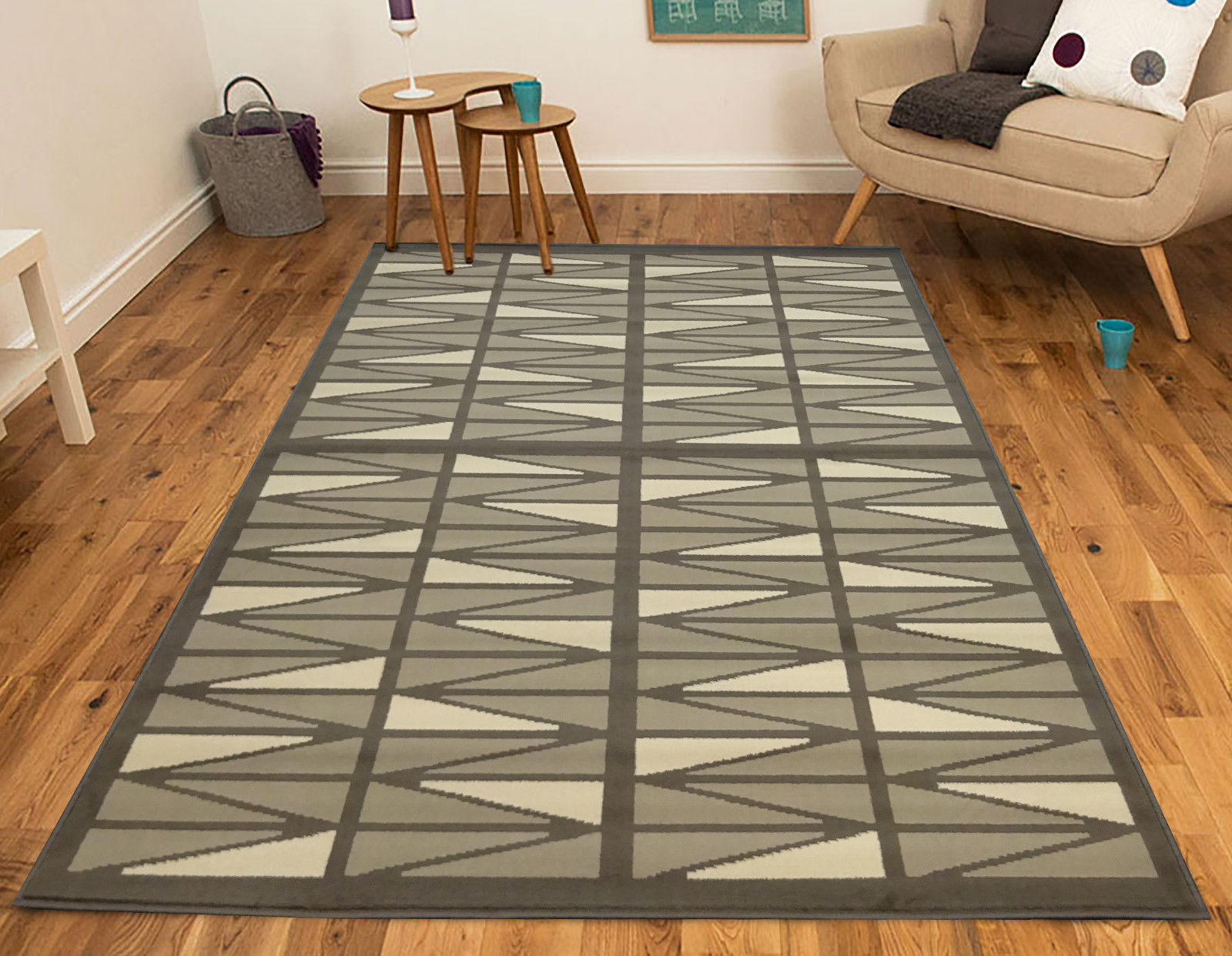 Hessian Rugs Modern Grey Rugs Uniquely Designed Modern Rugs 2361 H55