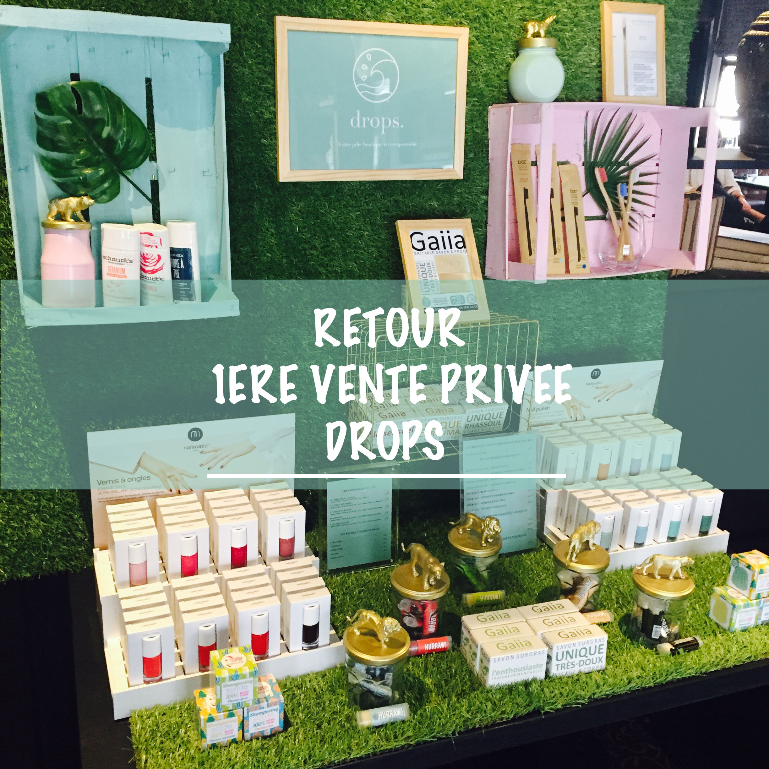 Vente Privee Decoration Retour Sur La 1ère Vente Privée Drops La Boutique Le Blog