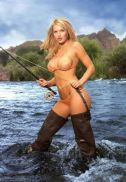 Wearing waders can make you hot