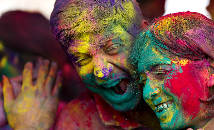 3d Holi Wallpapers Free Download A Colourful Collection Of Images From The Holi Festival