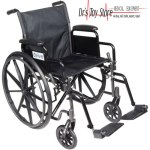 Drive Medical Silver Sport 1 Wheelchair