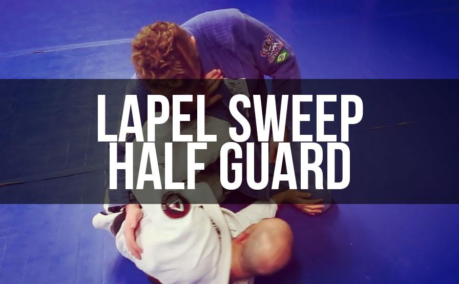 Soulcraft Jiu Jitsu's Technique Tuesday: Half Guard Lapel Sweep
