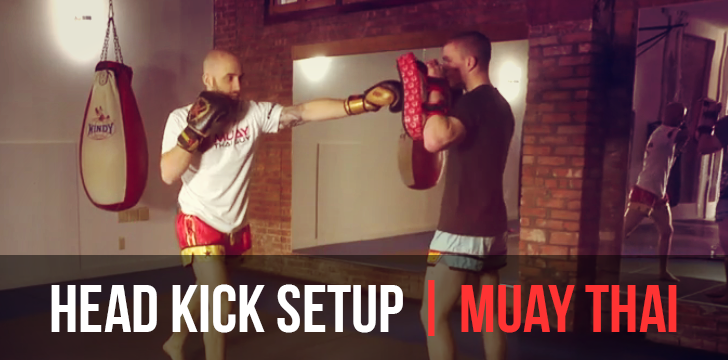 Advanced Muay Thai Counter Combo – Tricky Head Kick Setup Technique