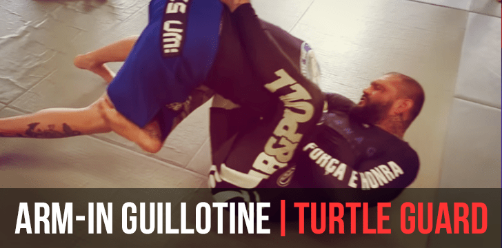 ARM IN GUILLOTINE | TURTLE GUARD