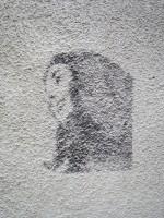 ワルシャワの街の落書き
