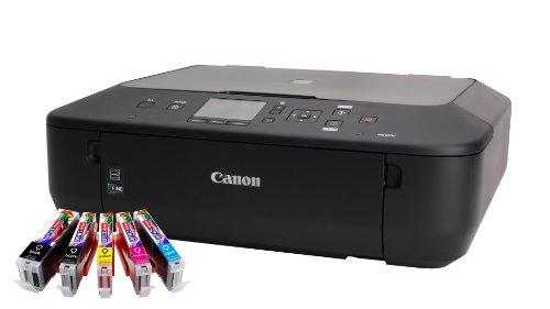 canon pixma mg5550 multifunktionsger t drucker scanner kopierer wlan mit 5 kompatiblen. Black Bedroom Furniture Sets. Home Design Ideas
