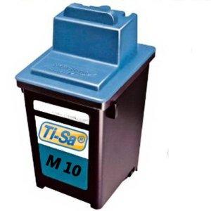 1x Standard Tintenpatrone M10 wiederbefüllt für Samsung SF 3100, SF 3200, SF 4100, SF 4108, SF 4200. - BLACK - Leistung: wie Original Ti-Sa®