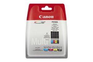 Canon CLI551 Tintenpatrone 6509B008 cyan/magenta/gelb/schwarz