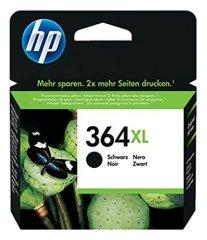 HP 364XL Schwarz Original Druckerpatrone mit hoher Reichweite für HP Photosmart 5460, 5510, 5515, 5520, 6510, 6520, 7510, 7520, C5380, C6380, B8550, HP Officejet 4620, 4622, HP Deskjet 3070A, 3520