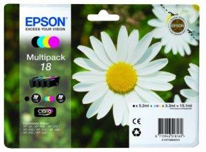 Epson T1806 Tintenpatrone Gänseblümchen, Multipack, 4-farbig