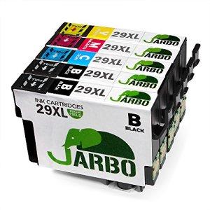 JARBO Kompatibel Epson 29XL Tintenpatronen (2 Schwarz,1 Cyan,1 Magenta,1 Gelb) Hohe Kapazität Kompatibel for Epson Expression Home XP-235, XP-332, XP-335, XP-432, XP-435 Drucker
