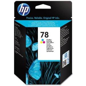 HP 78 cyan/magenta/gelb Original Tintenpatrone