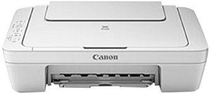 Canon Pixma MG2550 Farbtintenstrahl-Multifunktionsgerät (Drucker, Kopierer, Scanner, USB) weiß