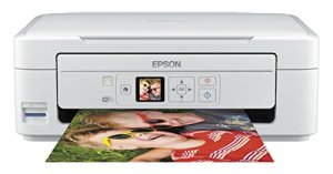 Epson Expression Home XP-335 Tintenstrahl Multifunktionsdrucker (Drucken, Scannen, Kopieren, 5.760 x 1.440 dpi, Wi-Fi, USB) weiß