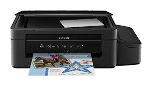 Epson EcoTank ET-2500 3-in-1 Tintenstrahl-Multifunktionsgerät (Drucker, Scanner, Kopierer, WiFi, USB 2.0, große Tintenbehälter, hohe Reichweite, niedrige Seitenkosten) schwarz