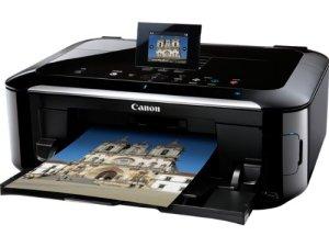 Canon Pixma MG5350 Multifunktionsgerät (Scanner, Kopierer, Drucker, USB 2.0) schwarz