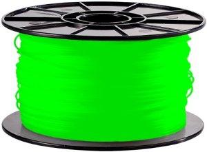 """FreeSculpt ABS-Filament für 3D-Drucker """"Glow-in-the-dark"""", 1 kg, grün"""