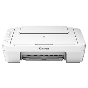 Canon Pixma MG3051 Farbtintenstrahl-Multifunktionsgerät (Drucker, Scanner, Kopierer, USB, WLAN, Pixma Cloud-Link) weiß