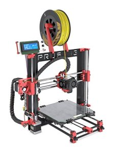BQ 05BQKIT040 Kit Prusa i3 Hephestos 3D Drucker, PLA/HIPS/FilaFlex, Rot