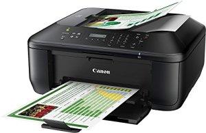 Canon PIXMA MX475 Tintenstrahl-Multifunktionsgerät (4800x1200 dpi, Scanner, Kopierer, Drucker, Fax, WiFi, USB 2.0, EU-Version, nicht kompatibel mit deutschem Telefonnetz) schwarz