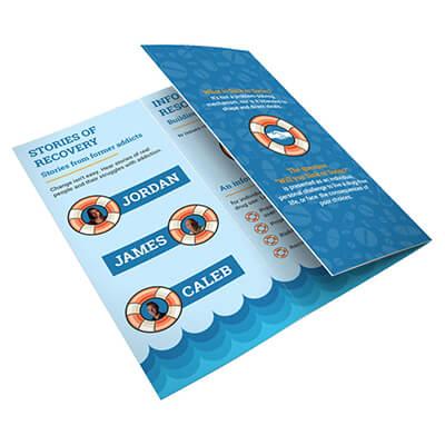Sink or Swim Tri-Fold Brochure - Drug Free VA