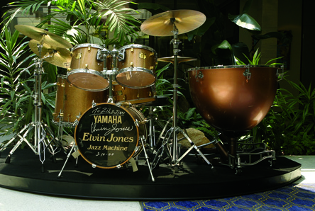 A Quick Glimpse Of Elvin Jones' Gear 2