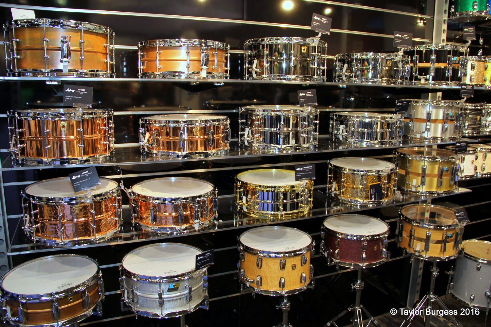 New 2016 Snare Drums from Ludwig