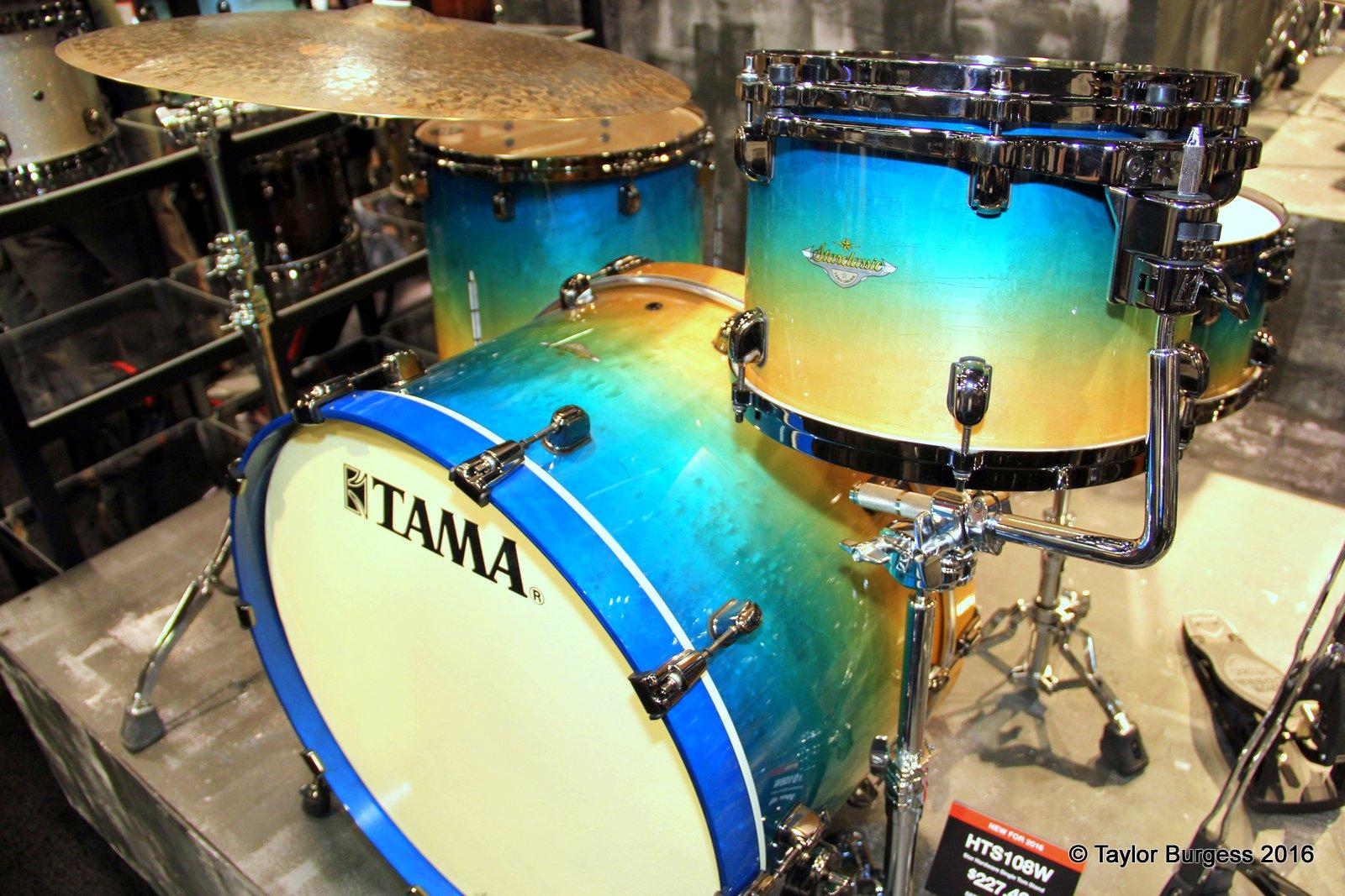 Tama Starclassic Caribbean Blue Fade