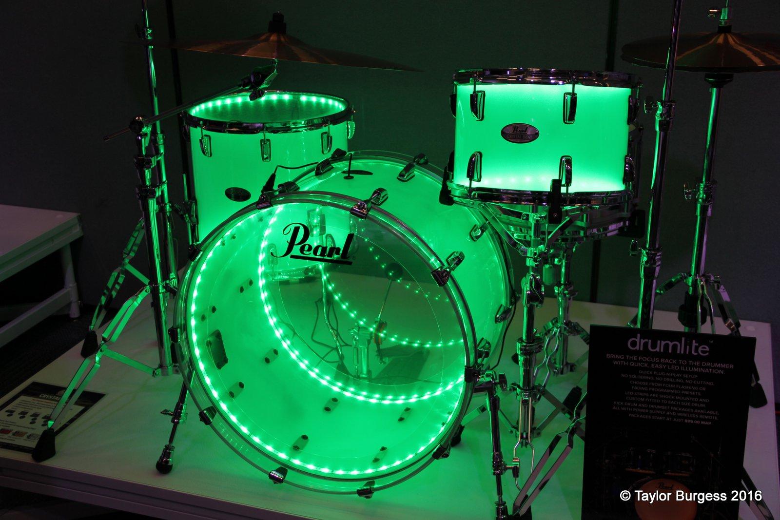 Pearl Crystal Beat w/ drumlite