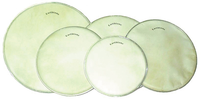 Earthtone Drumheads Tested