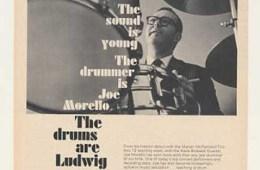 Joe Morello's Drum Kit Through The Ages