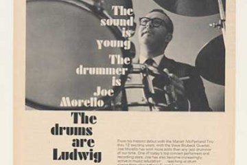 Joe Morello's Drum Kit Through The Ages