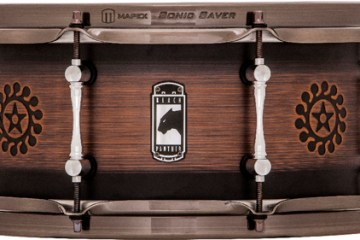 The Mapex Nomad drum was designed by Will Calhoun.