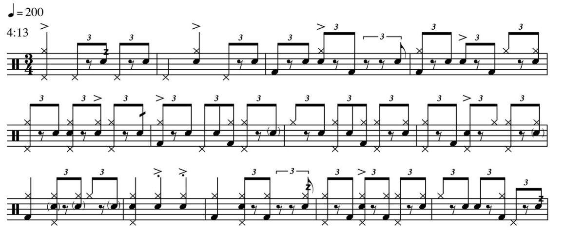 Groove Analysis - Eric Harland - Aquila