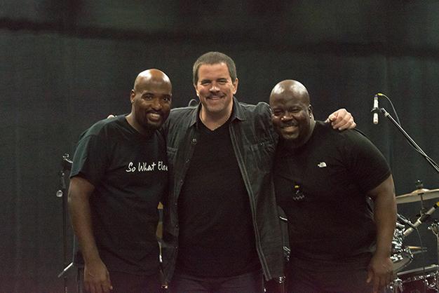 three-drummers