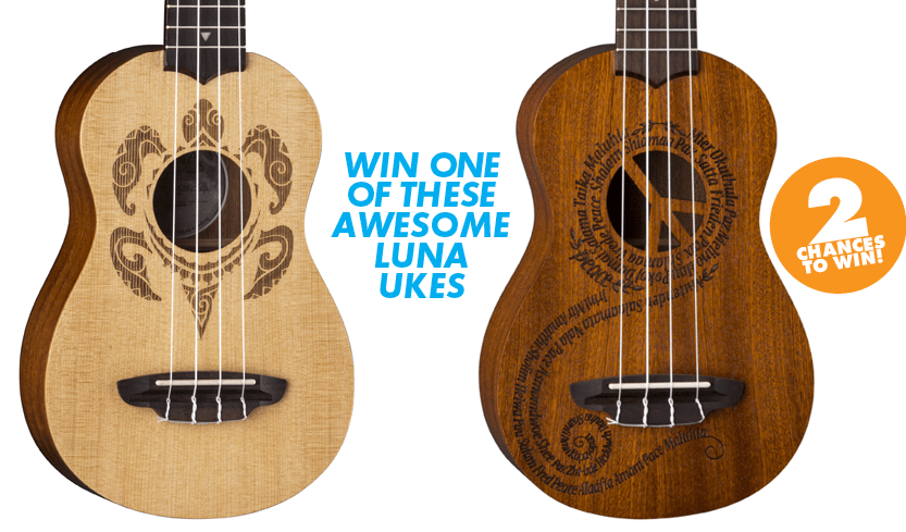 Win One Of These Awesome Luna Ukes Ukulele