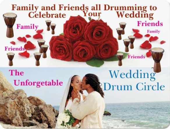 wedding drum circle for DYD site