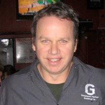 John Liegey of Greenport Harbor Brewing
