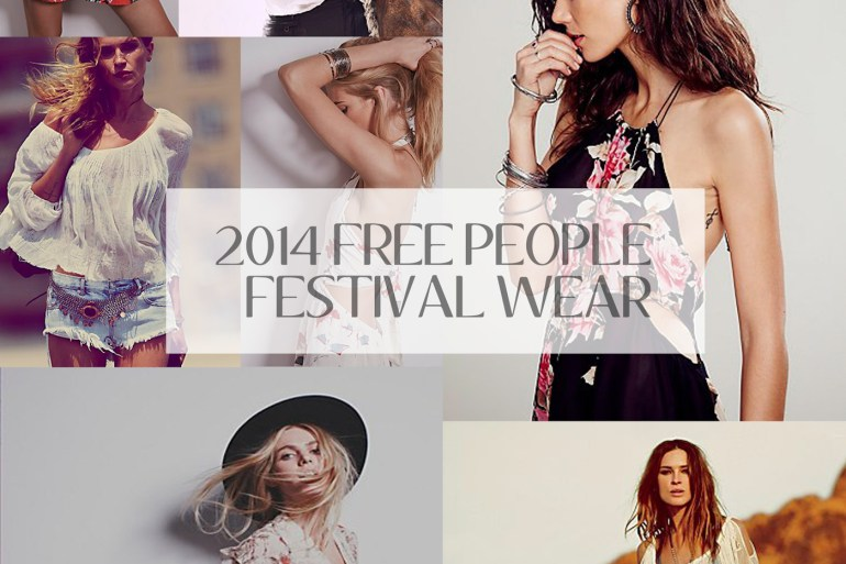 2014 FREE PEOPLE FESTIVAL WEAR