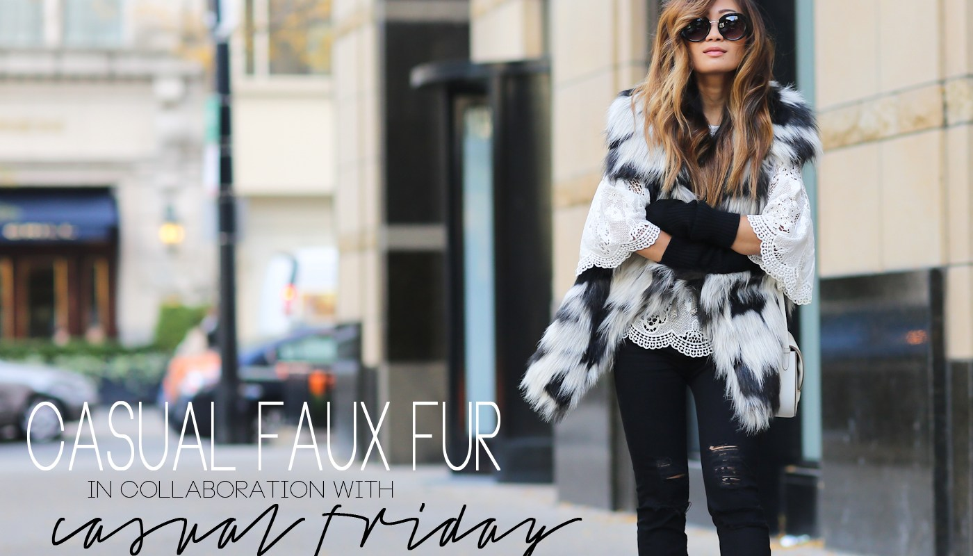 CASUAL FAUX FUR – CASUAL FRIDAY