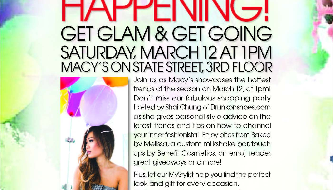 MACY'S GET GLAM & GET GOING EVENT